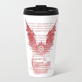 supernatural exorcism Travel Mug