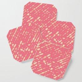 Coral Shibori Coaster