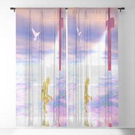 Cross Light Sheer Curtain