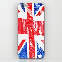 uk iPhone & iPod Skins featuring UK by arnedayan