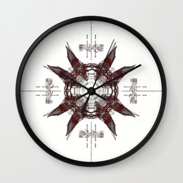 L5 Lamp In CAD Wall Clock