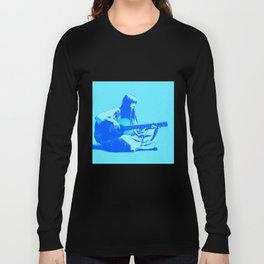 Blue Songbird Joni Mitchell Long Sleeve T-shirt