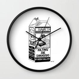 Where Have You Gone Joe DiMaggio? Wall Clock