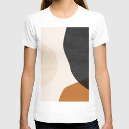 Earth Tone Shapes T-shirt