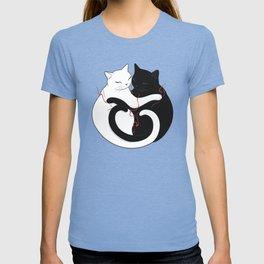 Blazing Cat Love T-shirt