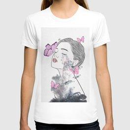 A touch of butterflies. T-shirt