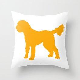 Goldendoodle Doodle Throw Pillow