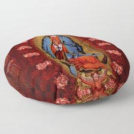 Virgin de Guadalupe Floor Pillow