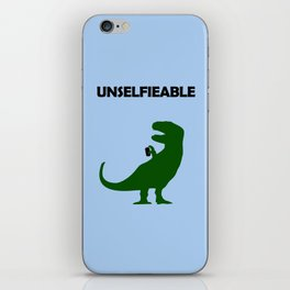 Unselfieable T-Rex iPhone Skin