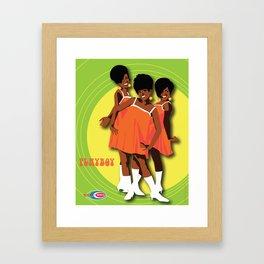 The Marvelettes Subway Soul Framed Art Print