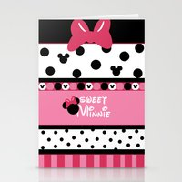 minnie Stationery Cards featuring Sweet Minnie  by Dino cogito