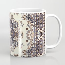V8 Moroccan Epic Carpet Texture Design. Coffee Mug