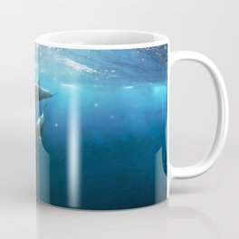 Swimming with Dolphins Coffee Mug