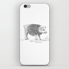 The Pig Pile iPhone & iPod Skin