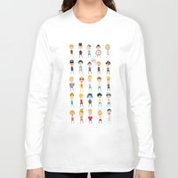 games Long Sleeve T-shirts featuring Boy's games by Anna Ivanir
