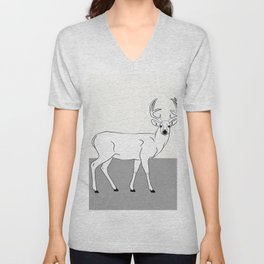The Deer Unisex V-Neck