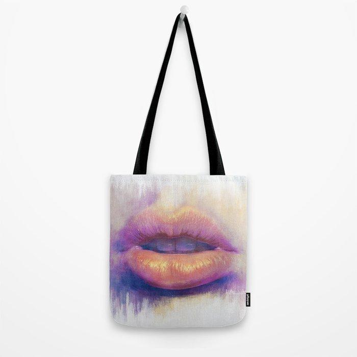 Lip Study Tote Bag