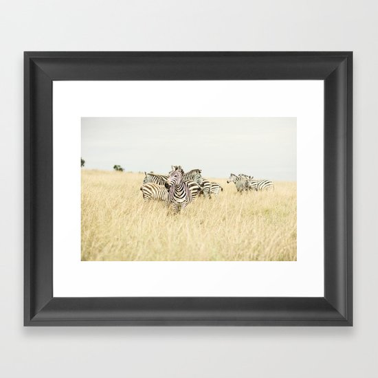 leader::kenya Framed Art Print