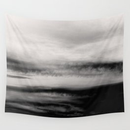 WHITE & BLACK TOUCHING #2 #abstract #decor #art #society6 Wall Tapestry