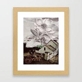 regrow Framed Art Print