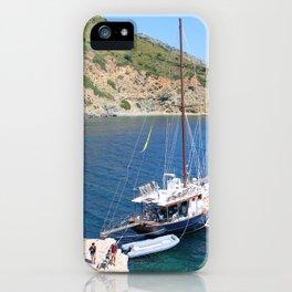 Caicco @Greece iPhone Case