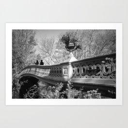 Bow Bridge #1 (Study of Expressions), NYC, 2013 Art Print