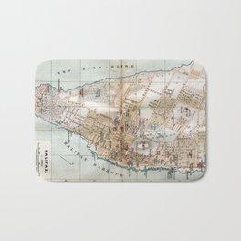 Vintage Map of Halifax Nova Scotia (1890) Bath Mat