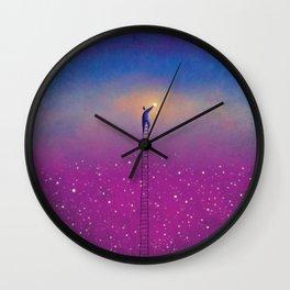 One Star Wall Clock