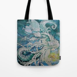 The Golden One II Tote Bag