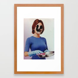 """I call her """"Peg"""" Framed Art Print"""