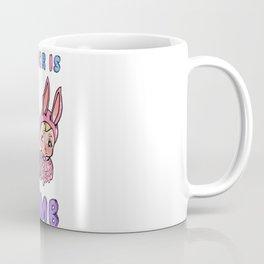 Gender Is Dumb - Bunnies Coffee Mug