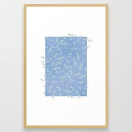 Zig and Zag Framed Art Print