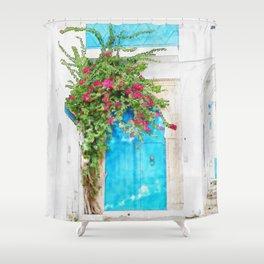 Tunisian door Shower Curtain