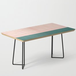 Anthropologie Traditional Moroccan Style Pink Texture (N28) Coffee Table