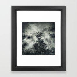 Recently // Dark Boogie Edit Framed Art Print