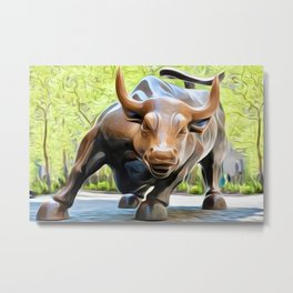 It's a Bull Market Metal Print