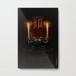 Gargoyle Metal Print
