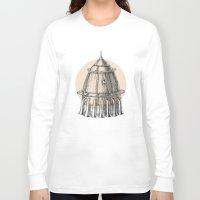 steam punk Long Sleeve T-shirts featuring Steam punk rocket by grop