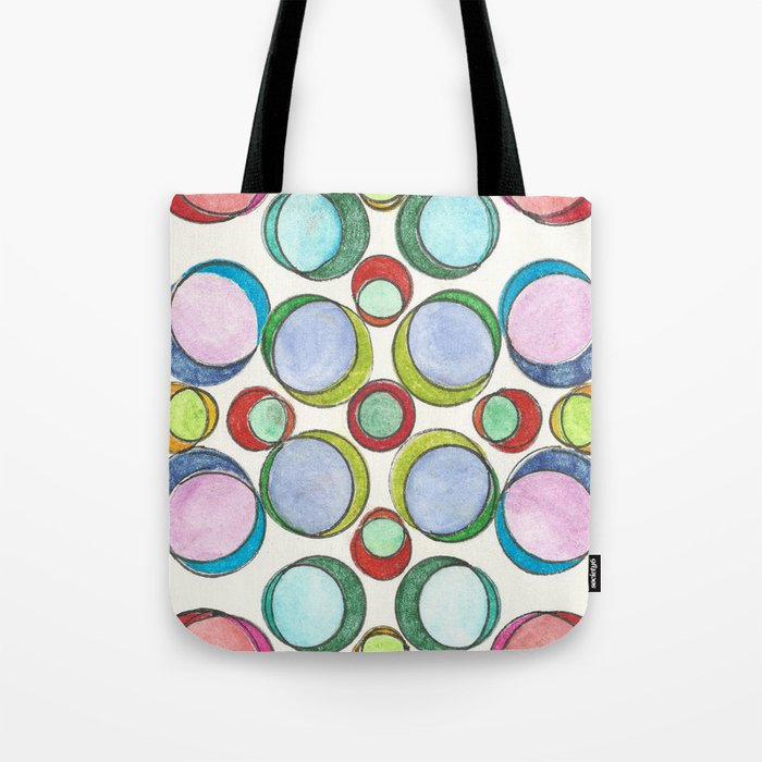 Orbicular Symmetry Tote Bag