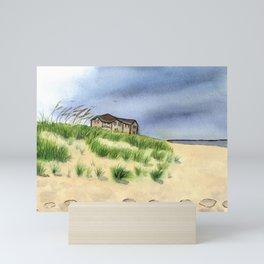 Sandbridge Beach Mini Art Print