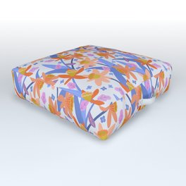 Daffodil Days Outdoor Floor Cushion