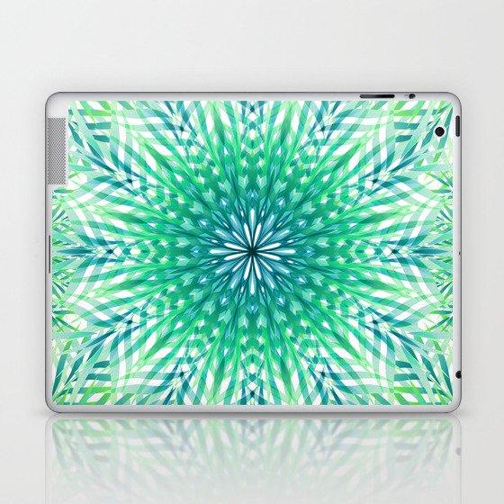 Palm Leaf Mandala Laptop & iPad Skin