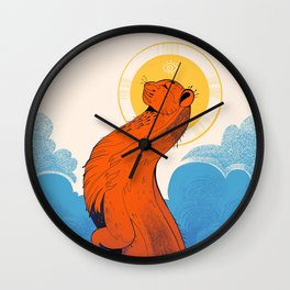 Let's get lifted Wall Clock
