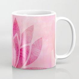 Zen Watercolor Lotus Flower Yoga Symbol Coffee Mug
