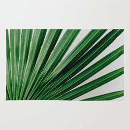 Palm Leaf Detail Rug