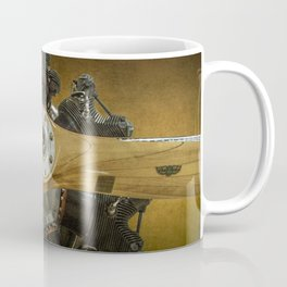 Airplane Propeller of a Fairchild PT-23 Cornell Monoplane Coffee Mug