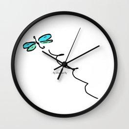 FLY DRAGON FLY Wall Clock