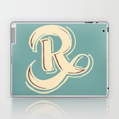R Laptop & iPad Skin