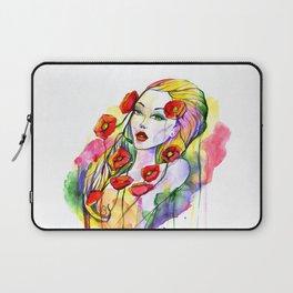 Waterolor beautful girl Laptop Sleeve