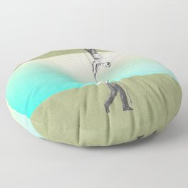 ropes 5 Floor Pillow